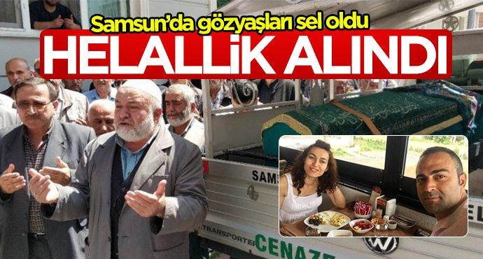 Samsun'da genç kadın için helallik alındı