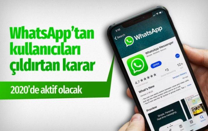 WhatsApp kullanıcılarını çıldırtan karar