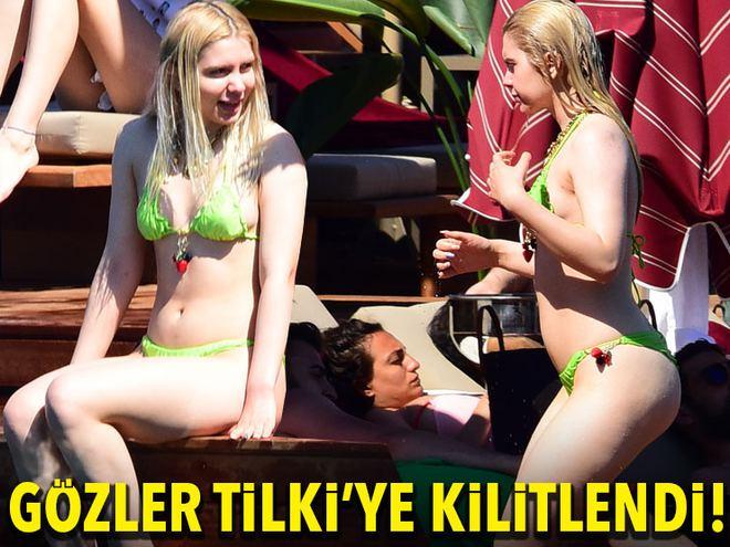 Gözler Aleyna Tilki'ye kilitlendi