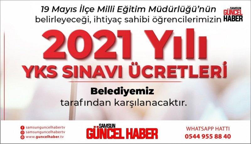 19 Mayıs Belediyesi YKS ücretini ödüyor