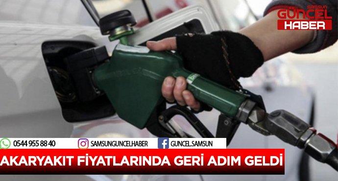 AKARYAKIT FİYATLARINDA GERİ ADIM GELDİ