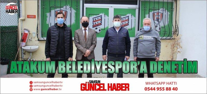 ATAKUM BELEDİYESPOR'A DENETİM