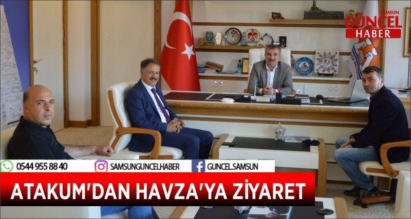 ATAKUM'DAN HAVZA'YA ZİYARET