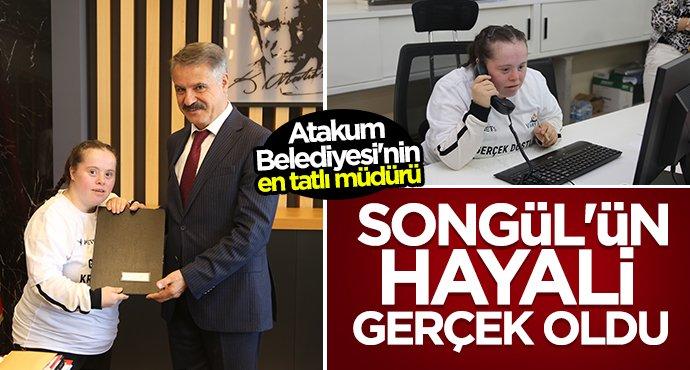 Başkan Cemil Deveci Songül'ün hayalini gerçekleştirdi