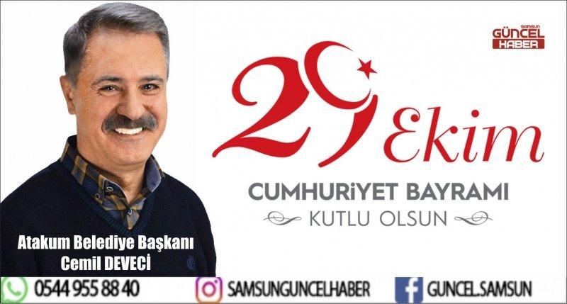 Başkan Cemil Deveci:  Türkiye Cumhuriyeti Mazlum Milletlere Örnek Oldu
