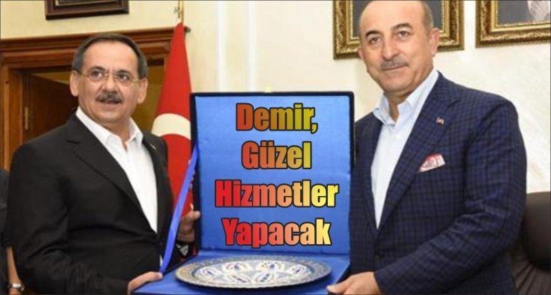 Başkan Demir, Güzel Hizmetler Yapacak
