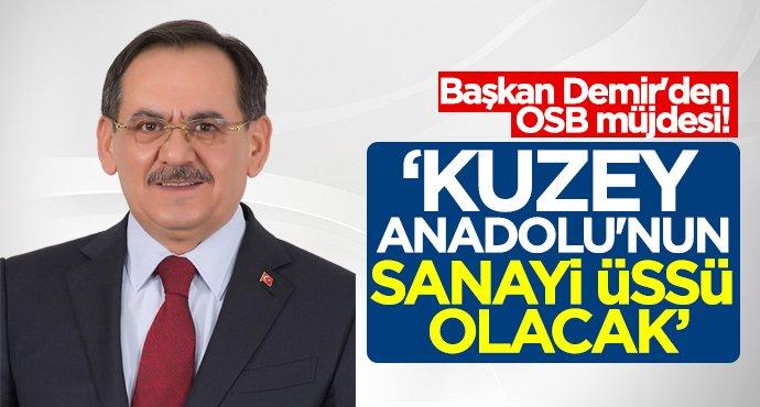 Başkan Mustafa Demir'den OSB müjdesi!