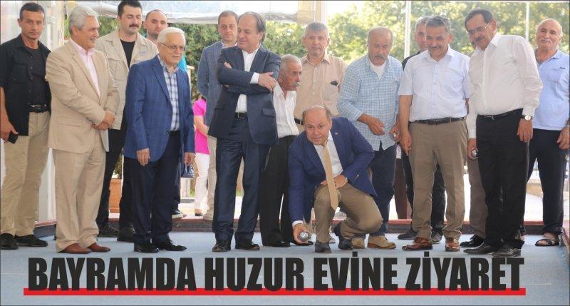 BAYRAMDA HUZUR EVİNE ZİYARET