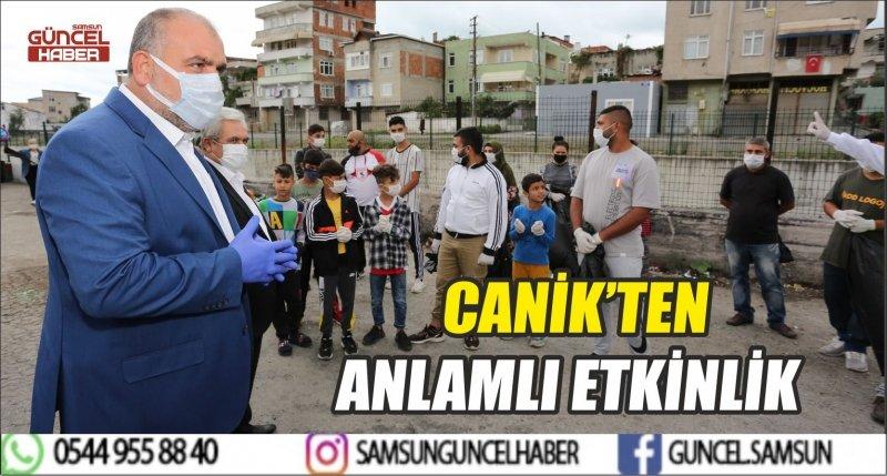CANİK'TEN ANLAMLI ETKİNLİK