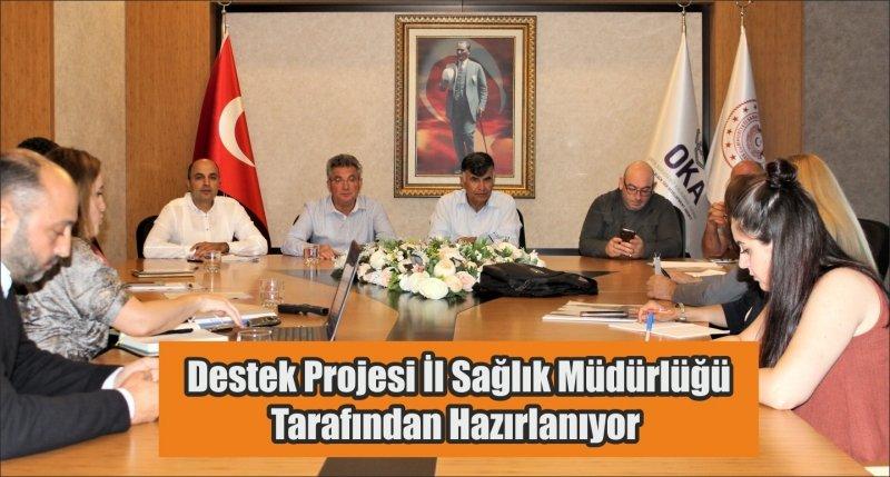 Destek Projesi İl Sağlık Müdürlüğü Tarafından Hazırlanıyor
