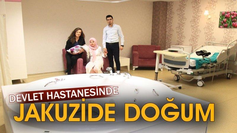 Devlet hastanesinde jakuzide doğum: 5 yıldızlı otel konforunda 81