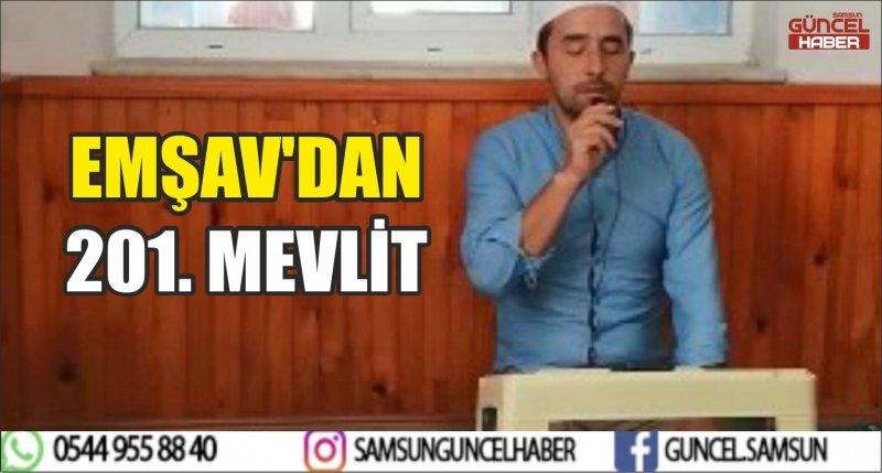 EMŞAV'DAN 201. MEVLİT