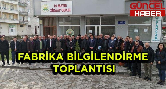 FABRİKA BİLGİLENDİRME TOPLANTISI
