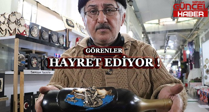 GÖRENLER HAYRET EDİYOR !