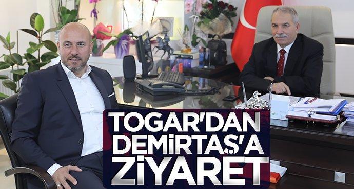 Hasan Togar'dan Necattin Demirtaş'a ziyaret