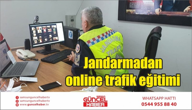 Jandarmadan online trafik eğitimi
