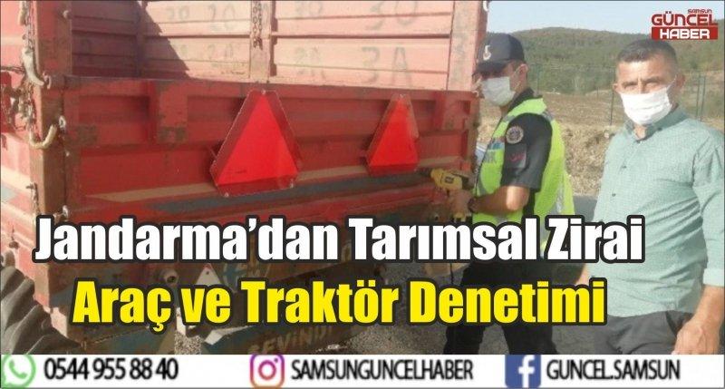Jandarma'dan Tarımsal Zirai Araç ve Traktör Denetimi