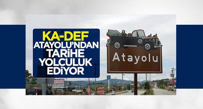 KA-DEF Atayolu'ndan tarihe yolculuk ediyor
