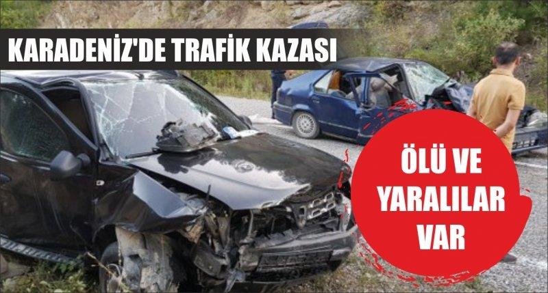 KARADENİZ'DE TRAFİK KAZASI