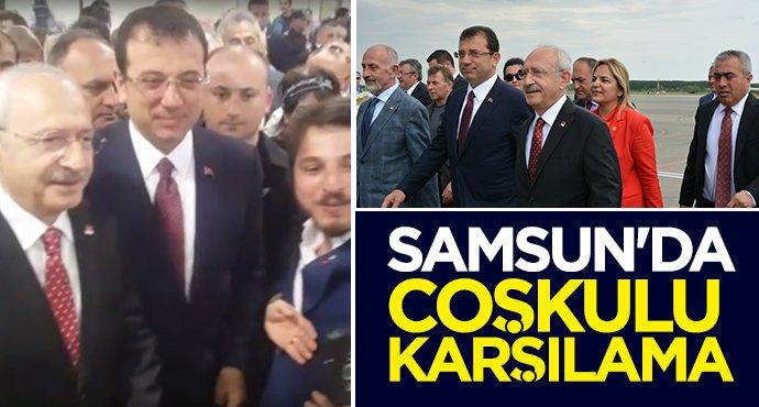 Kılıçdaroğlu ve İmamoğlu Samsun'da