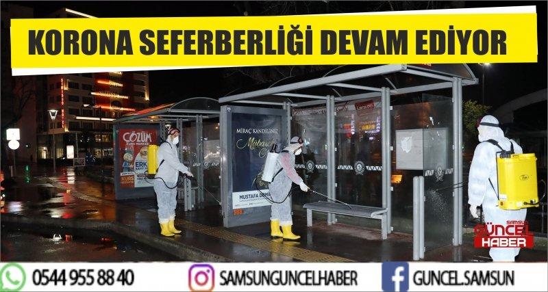 KORONA SEFERBERLİĞİ DEVAM EDİYOR