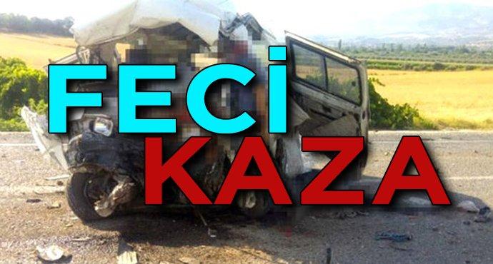 Manisa'da feci kaza! Çok sayıda ölü ve yaralı var