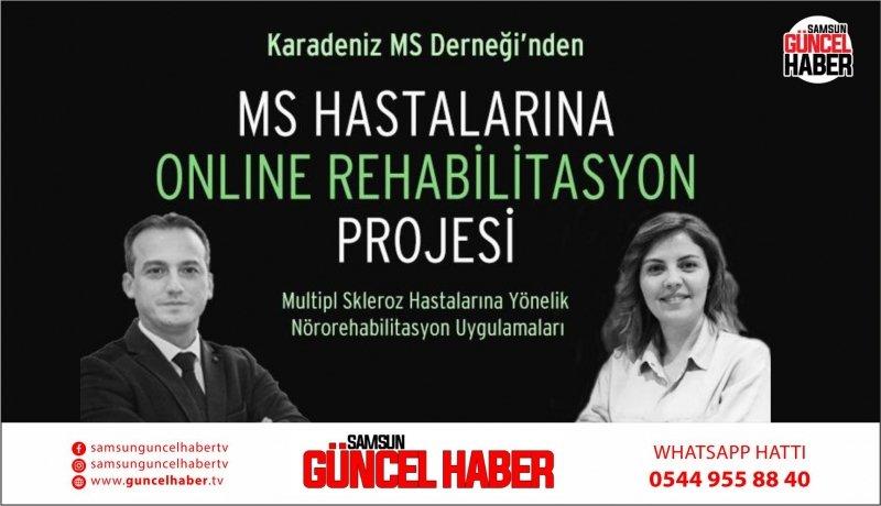 MS hastalarına çevrimiçi rehabilitasyon