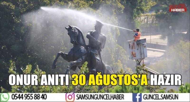 ONUR ANITI 30 AĞUSTOS'A HAZIR