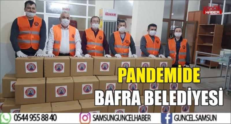 PANDEMİDE BAFRA BELEDİYESİ