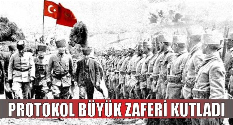 PROTOKOL BÜYÜK ZAFERİ KUTLADI