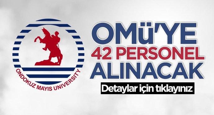 Samsun 19 Mayıs Üniversitesi'ne (OMÜ) personel alınacak