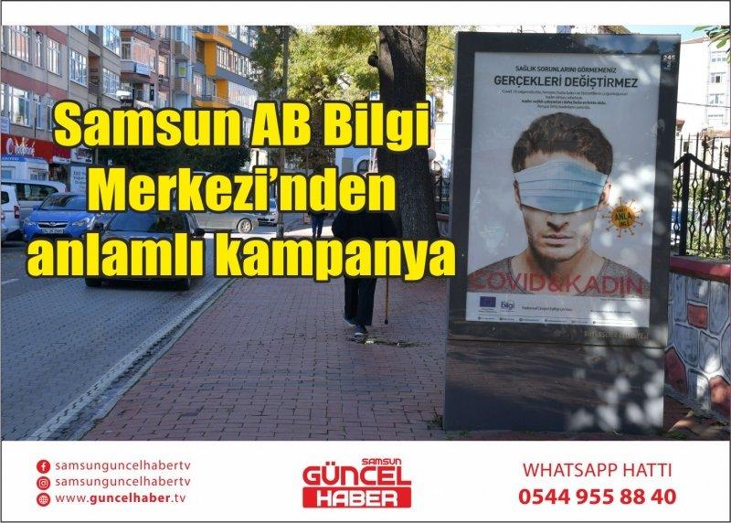 Samsun AB Bilgi Merkezi'nden anlamlı kampanya