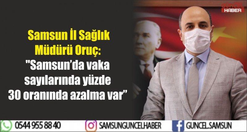 Samsun İl Sağlık Müdürü Oruç: