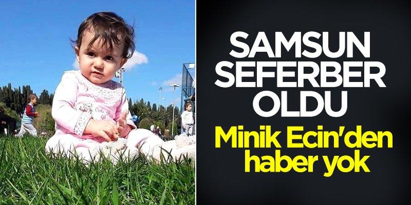 Samsun'da 1,5 yaşındaki çocuğu aramaları sürüyor