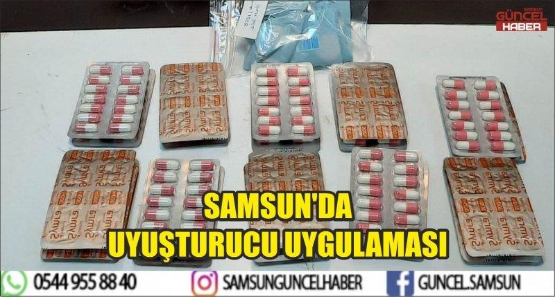 SAMSUN'DA UYUŞTURUCU UYGULAMASI