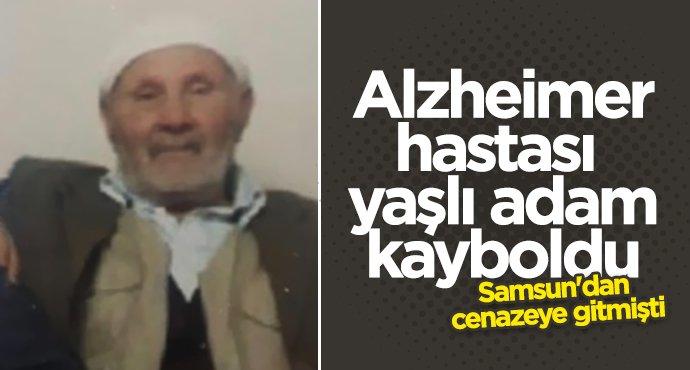 Samsun'dan cenazeye giden yaşlı adam kayboldu
