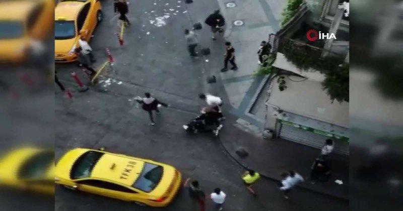 Sokak ortasında pes dedirten kavga