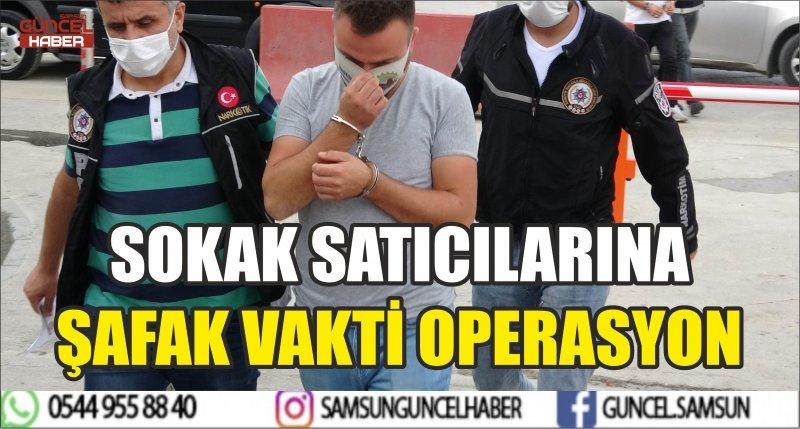 SOKAK SATICILARINA ŞAFAK VAKTİ OPERASYON
