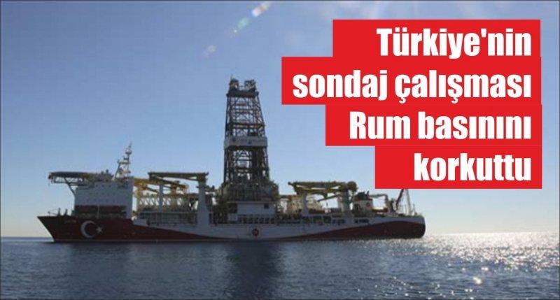 Türkiye'nin sondaj çalışması Rum basınını korkuttu