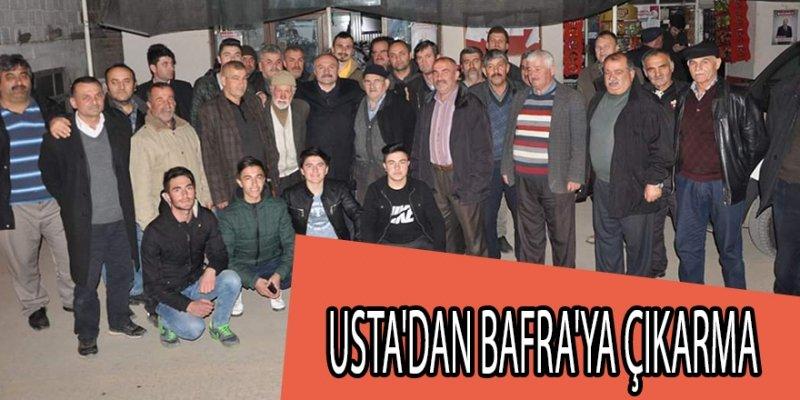 Usta'dan Bafra'ya çıkarma