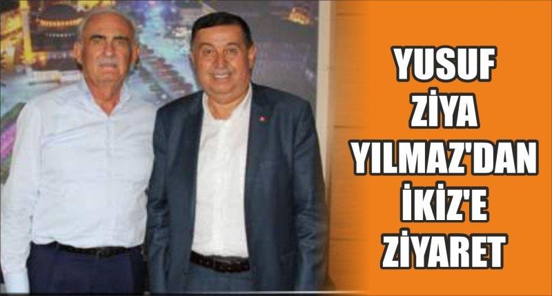 YILMAZ'DAN İKİZ'E ZİYARET