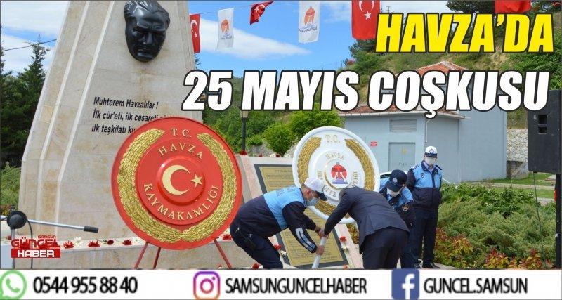 HAVZA'DA 25 MAYIS COŞKUSU