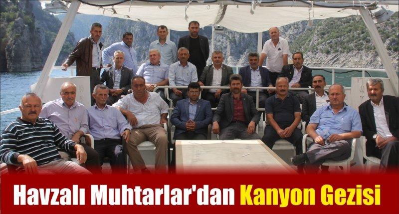 Havzalı Muhtarlar'dan Kanyon Gezisi