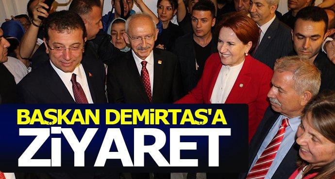 Kılıçdaroğlu ve İmamoğlu'dan Necattin Demirtaş'a ziyaret
