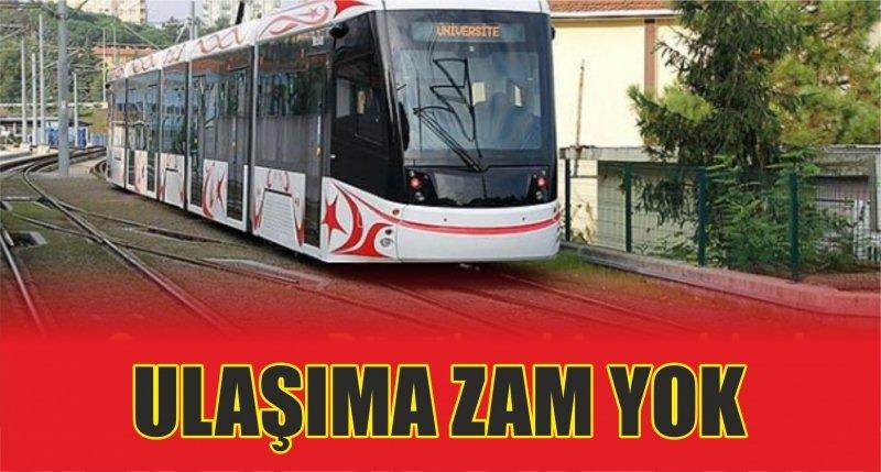 Samsun Büyükşehir açıkladı: Ulaşıma zam yok...