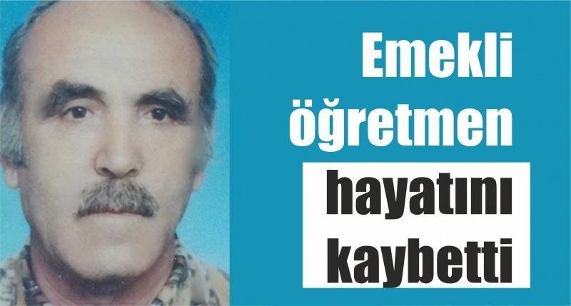 Samsun'da emekli öğretmen hayatını kaybetti