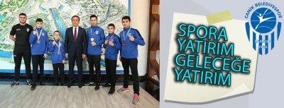 Canik Belediyesi Sporda Bir Numara