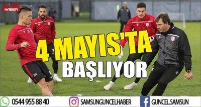 4 MAYIS'TA BAŞLIYOR