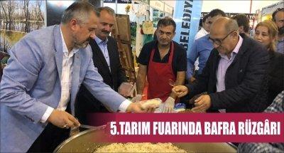 5.TARIM FUARINDA BAFRA RÜZGÂRI