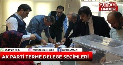 AK PARTİ TERME DELEGE SEÇİMLERİ